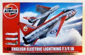 AIRFIX 1/48 09179 EE LIGHTNING F-1/ F-1A/F-2/F-3