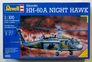REVELL 1/100 4091 SIKORSKY HH-60A NIGHT HAWK