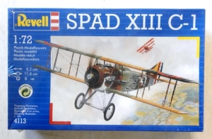 REVELL 1/72 04113 SPAD XIII C-1