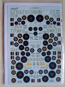 XTRADECAL 1/72 72194 70th ANNIVERSARY D-DAY Pt.1 RAF FAA   COMMONWEALTH SINGLE ENGINED TYPES