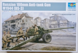 TRUMPETER 1/35 02331 RUSSIAN 100mm ANTI-TANK GUN 1944  BS-3