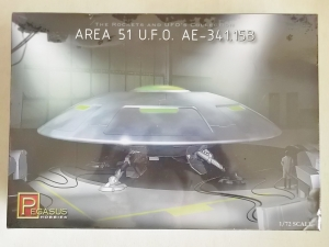 PEGASUS HOBBIES 1/72 9100 AREA 51 UFO