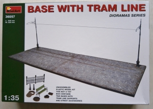 MINIART 1/35 36057 BASE WITH TRAM LINE