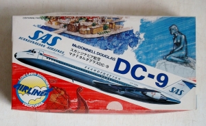 HASEGAWA 1/200 LA5 McDONNELL DOUGLAS DC-9 SAS