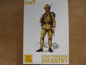 HAT INDUSTRIES 1/72 8070 WWI TURKISH INFANTRY