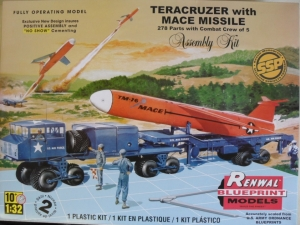 RENWAL 1/32 85-7812 TERACRUZER WITH MACE MISSILE  UK SALE ONLY