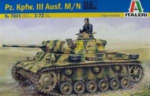 ITALERI 1/72 7041 Pz.Kpfw.III Ausf.M/N