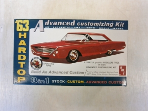 AMT  6003 FORD GALAXIE 500 XL 63 HARDTOP 3 IN 1