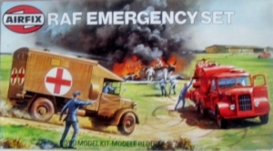 AIRFIX 1/76 02304 RAF EMERGENCY SET