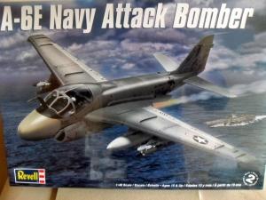 REVELL 1/48 5626 A-6E NAVY ATTACK BOMBER