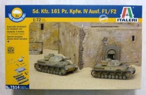 ITALERI 1/72 7514 Sd.Kfz 161 Pz.Kpfw IV Ausf.F1/F2