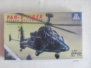 ITALERI 1/72 196 PAH-2 TIGER ATTACK HELICOPTER