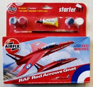 AIRFIX 1/72 55105 RAF RED ARROWS GNAT STARTER SET