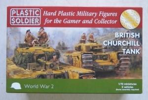 PLASTIC SOLDIER 1/72 WW2V20017 BRITISH CHURCHILL TANK