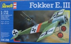REVELL 1/72 04188 FOKKER E.III