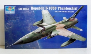 TRUMPETER 1/32 02201 F-105D THUNDERCHIEF  UK SALE ONLY