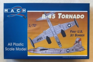 MACH 1/72 010 NORTH AMERICAN B-45A/C/RB TORNADO