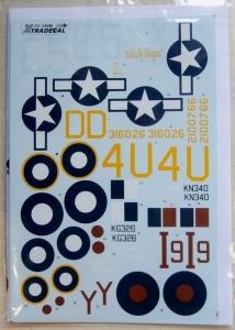 XTRADECAL 1/48 48064 DOUGLAS C-47 DAKOTA