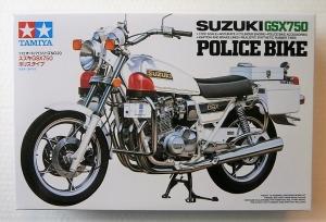 TAMIYA 1/12 14020 SUZUKI GSX750 POLICE BIKE