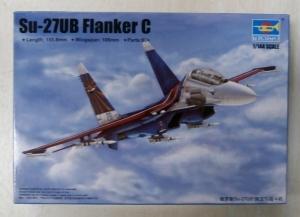 TRUMPETER 1/144 03916 Su-27UB FLANKER C