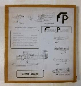FORMAPLANE 1/72 FAIREY SEAFOX