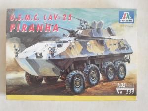 ITALERI 1/35 259 U.S.M.C. LAV-25 PIRANHA