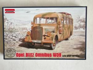 RODEN 1/72 726 OPEL BLITZ OMNIBUS W39