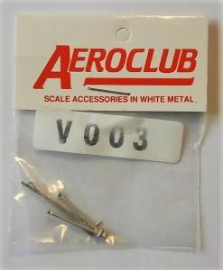 AEROCLUB 1/72 V003 ARRESTOR HOOKS