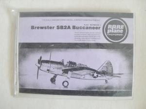 RAREPLANE 1/72 BREWSTER SB2A BUCCANEER