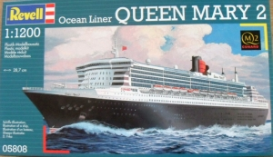 REVELL 1/1200 05808 QUEEN MARY 2