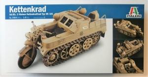 ITALERI 1/9 7404 KETTENKRAD Sd.Kfz.2 KLEINES KETTENKRAFTRAD TYP HK 101  UK SALE ONLY