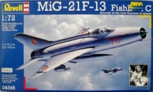 REVELL 1/72 04346 MiG 21 F-13 FISHBED C