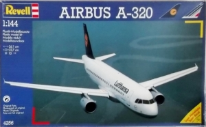 REVELL 1/144 04256 AIRBUS A-320 LUFTHANSA AIR FRANCE