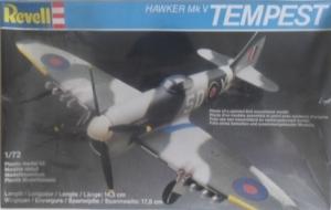 REVELL 1/72 4123 HAWKER TEMPEST Mk.V