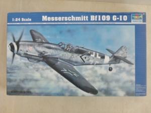 TRUMPETER 1/24 02409 MESSERSCHMITT Bf 109 G-10
