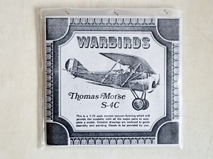 WARBIRDS 1/72 THOMAS MORSE S.4C