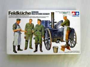 TAMIYA 1/35 35247 FELDKUCHE - GERMAN FIELD KITCHEN