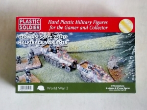 PLASTIC SOLDIER 1/72 20016 GERMAN Sd.Kfz 251/D HALFTRACK VARIANTS