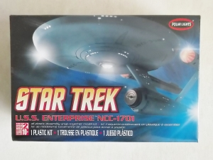 POLAR LIGHTS  803 USS ENTERPRISE NCC-1701