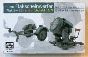 AFV CLUB 1/35 35125 60cm FLAKSCHEINWERFER SEARCHLIGHT