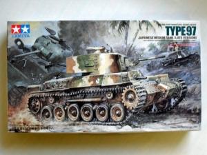 TAMIYA 1/35 35137 JAPANESE TYPE 97 MEDIUM TANK LATE