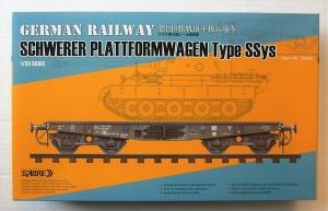 SABRE MODELS 1/35 35A02 SCHWERER PLATTFORMWAGEN TYPE SSys