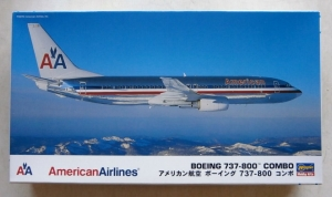 HASEGAWA 1/200 10670 BOEING 737-800 COMBO AMERICAN AIRLINES