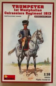MINIART 1/16 16033 TRUMPETER 1st WESTPHALIAN CUIRASSIERS REGIMENT 1813