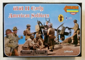 STRELETS 1/72 M105 WWII EARLY AMERICAN SOLDIERS