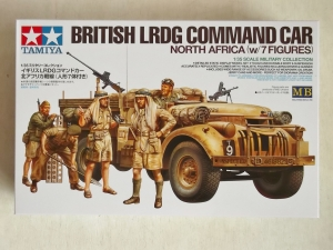 TAMIYA 1/35 32407 LRDG COMMAND CAR NORTH AFRICA WITH 7 FIGURES