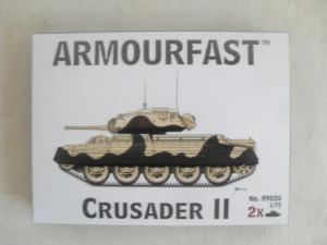ARMOURFAST 1/72 99026 CRUSADER II