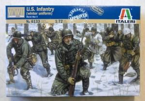 ITALERI 1/72 6133 WWII US INFANTRY WINTER UNIFORM
