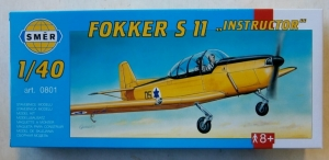 SMER  0801 FOKKER S II INSTRUCTOR 1/40