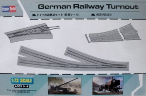 HOBBYBOSS 1/72 82909 GERMAN RAILWAY TURNOUT